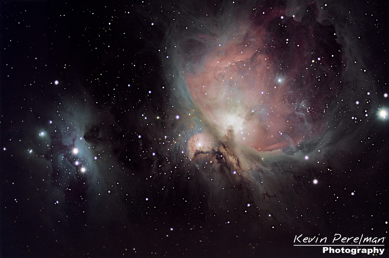 Orion Nebula in the constellation Orion